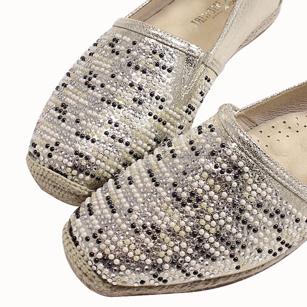 BlingBling時尚氣墊草編鞋