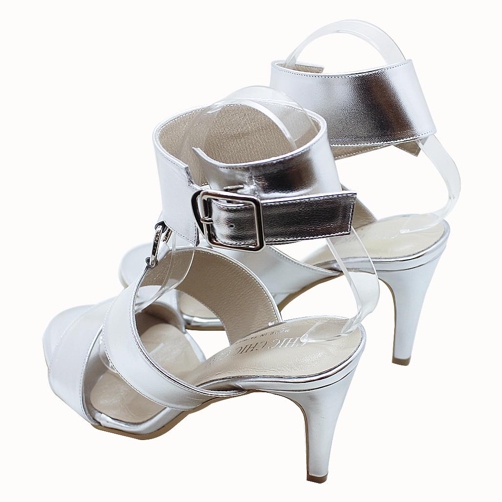 歐美設計師款小羊皮性感涼鞋