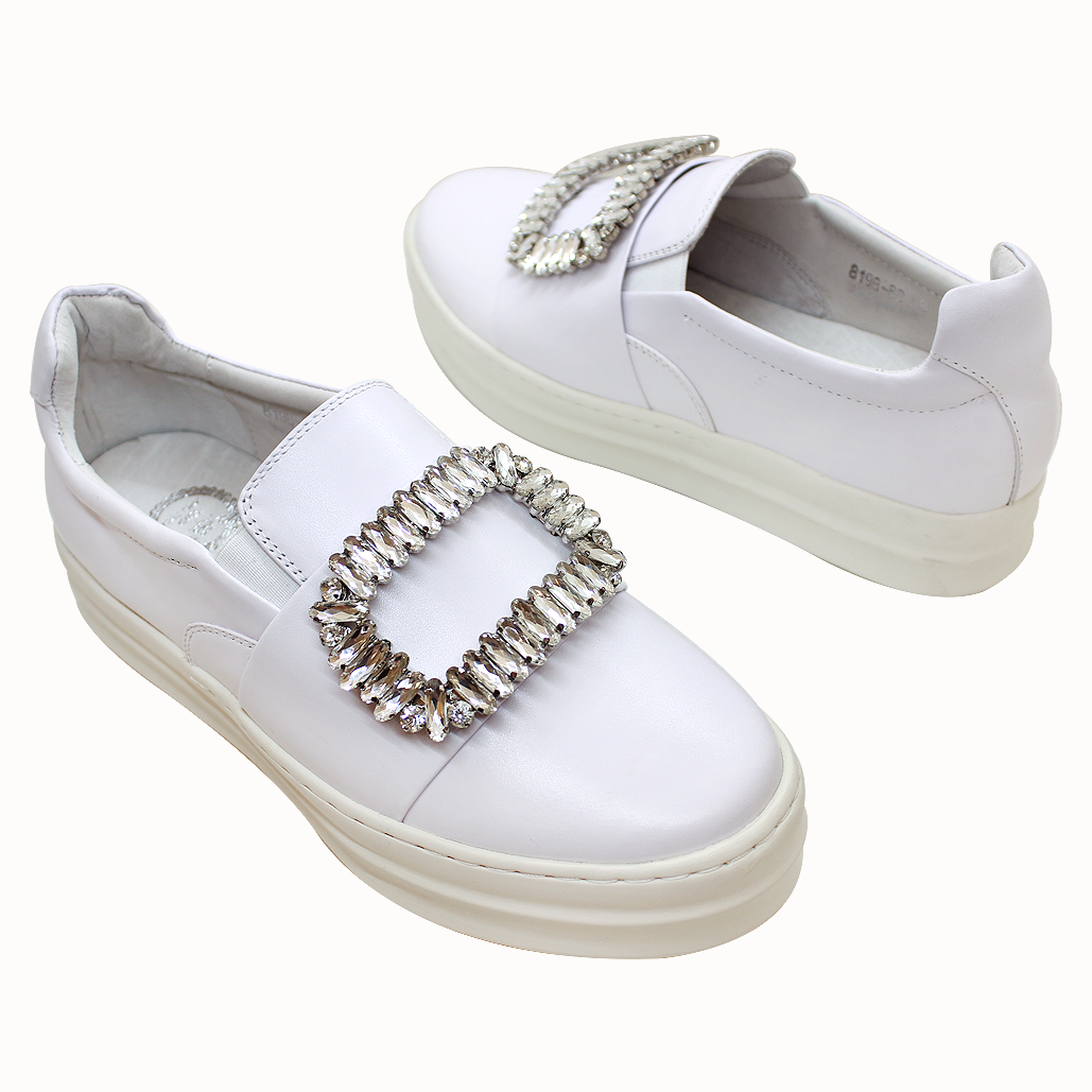 RV風經典款小牛皮氣墊厚底鞋