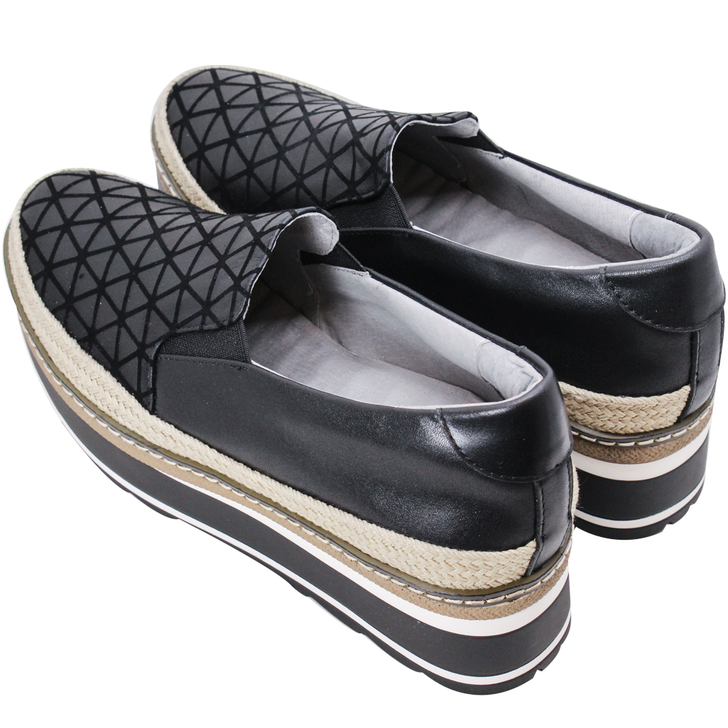 三宅一生風小羊皮厚底草編鬆糕鞋