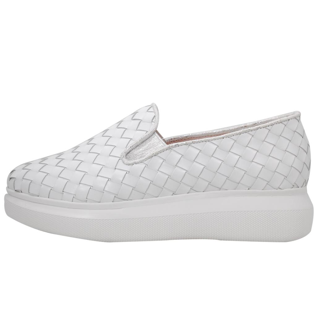 BV編織風小牛皮輕量化氣墊厚底鞋(特殊訂製款)