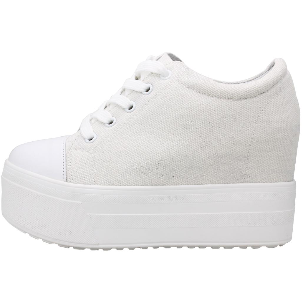 超厚底小牛皮特殊布料增高平底鞋