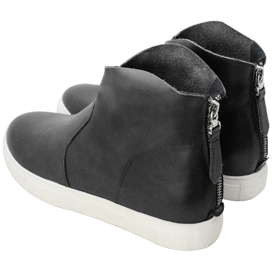 Y3風頂級小牛皮厚底短靴