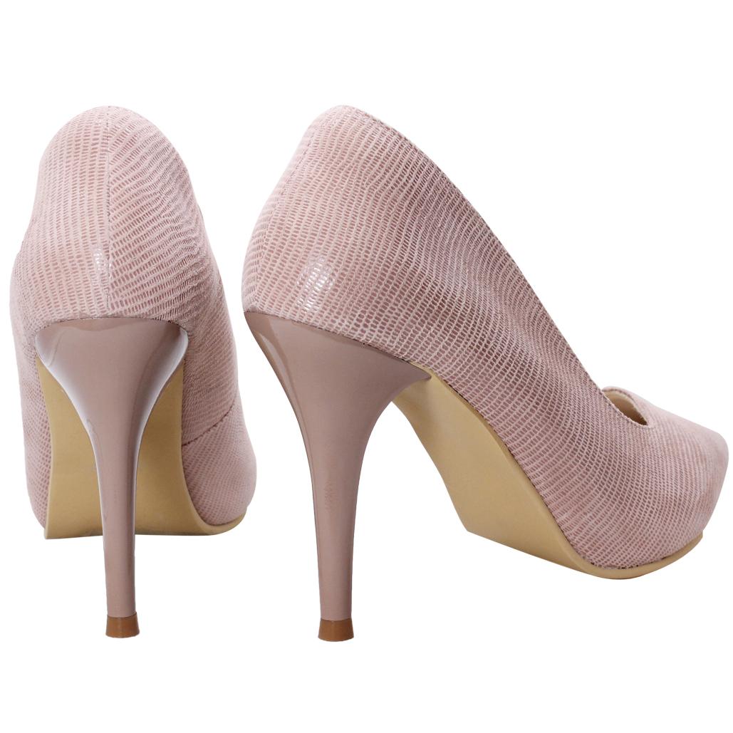 優雅小羊皮五吋晚宴跟鞋