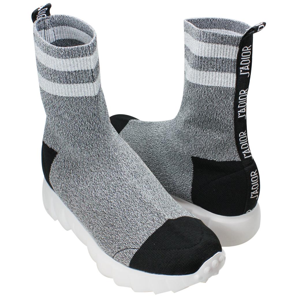個性風彈性萊卡針織輕量化襪靴