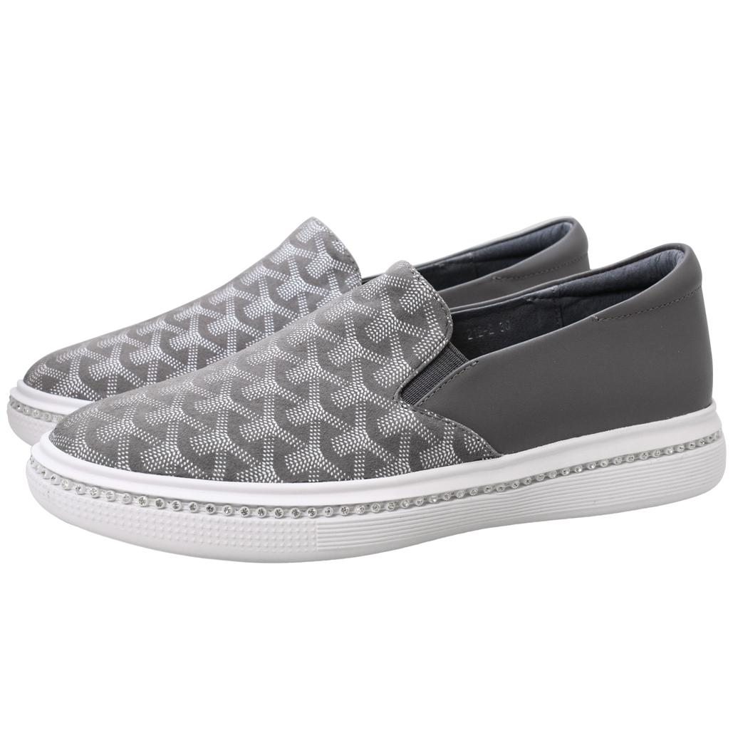 法式經品風羊麂皮厚底氣墊鞋