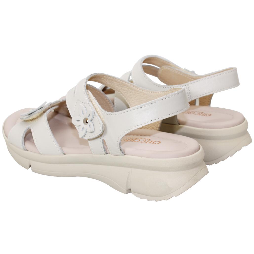 基本款輕量厚底小牛皮涼鞋