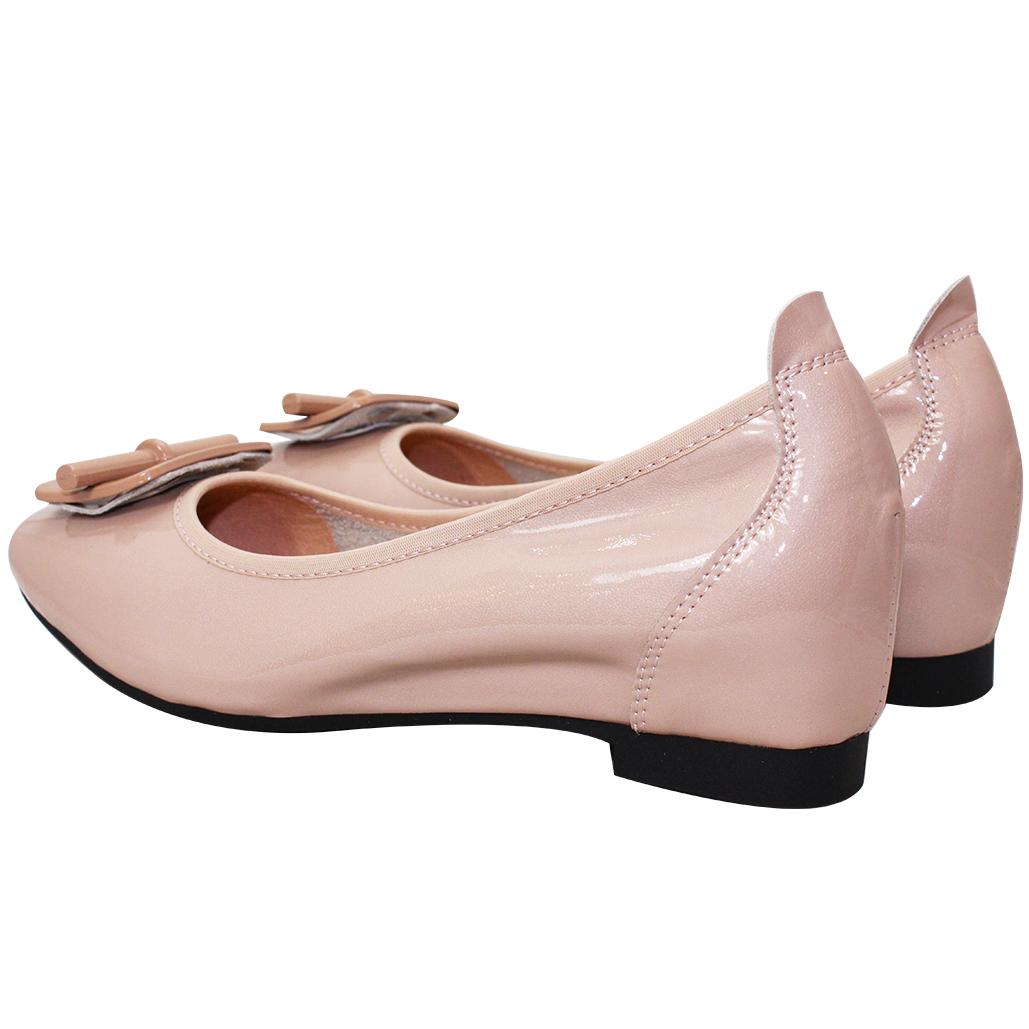 OL款超軟Q羊漆皮娃娃鞋