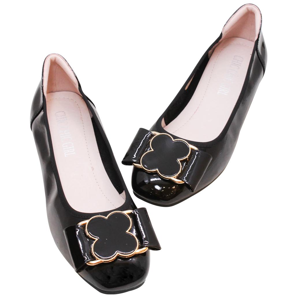 時尚軟Q羊漆皮娃娃鞋