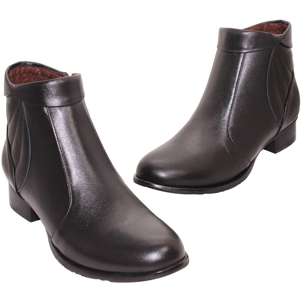 義大利頂級小羊皮低跟短靴