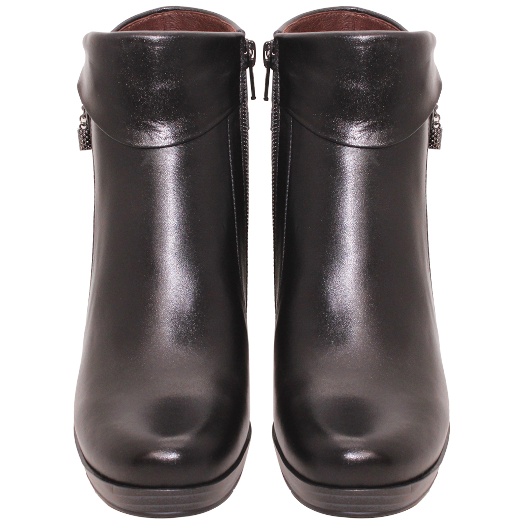 義大利頂級小羊皮氣墊高跟短靴
