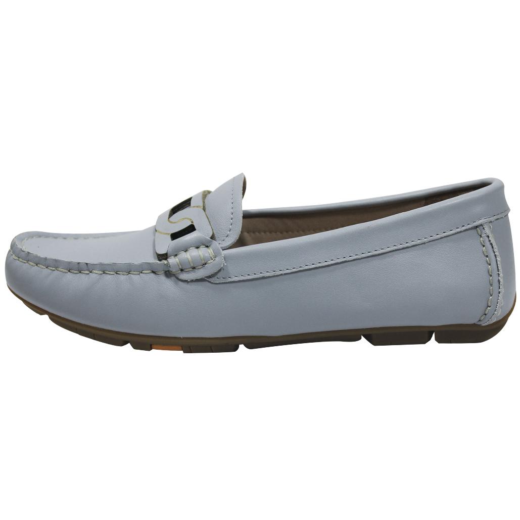 時尚小牛皮船型樂福鞋