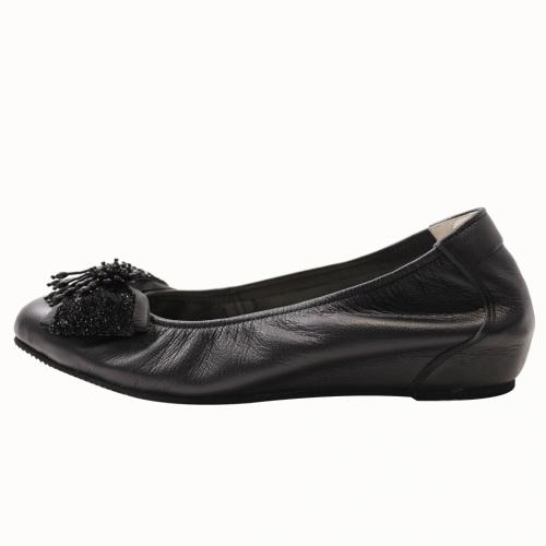 小羊皮基本款心機內增高鞋