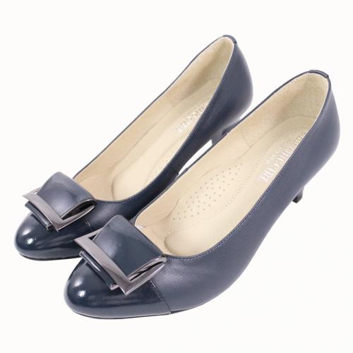 OL首選小羊皮3D足弓跟鞋