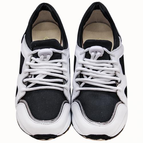 超級氣墊厚底小牛皮萊卡造型球鞋