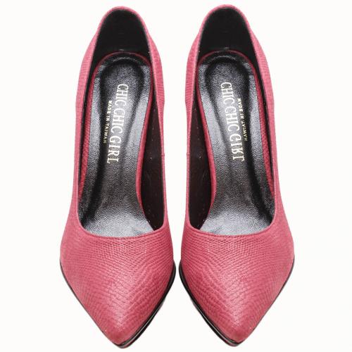 小羊皮特殊水台尖頭高跟鞋(限量訂製色)