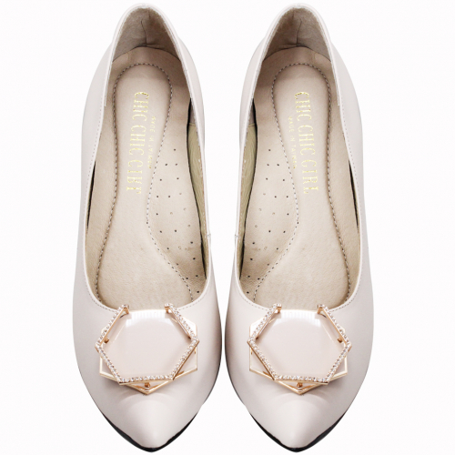時尚小羊皮性感尖頭跟鞋(限預購訂製)