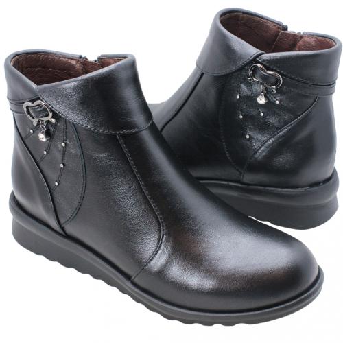 義大利頂級小羊皮楔型氣墊短靴