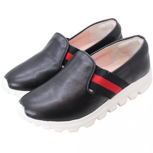 古馳風綿羊皮輕量化休閒鞋