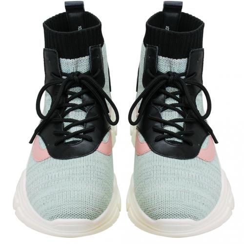 潮流時尚萊卡老爺襪靴