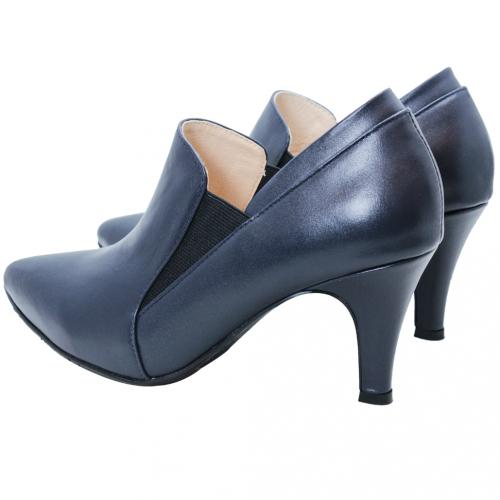 時尚性感小羊皮尖頭踝靴