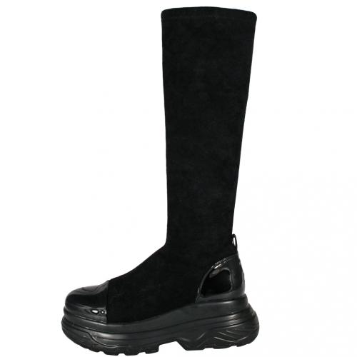 運動風顯瘦貼腿氣墊襪靴
