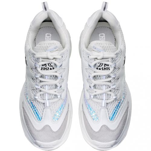 運動風小牛皮輕量化透氣老爺鞋