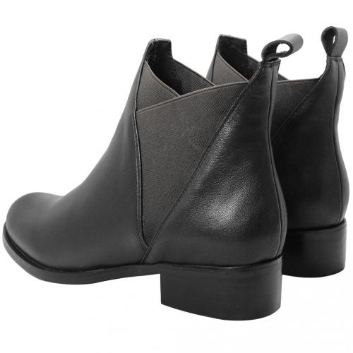率型時尚小牛皮雀爾希短靴
