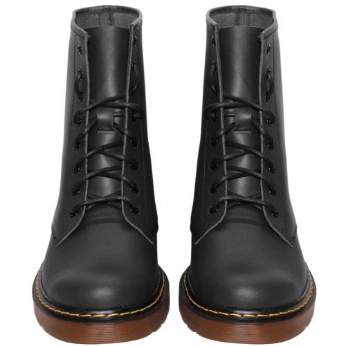 個性風小牛皮氣墊馬汀靴