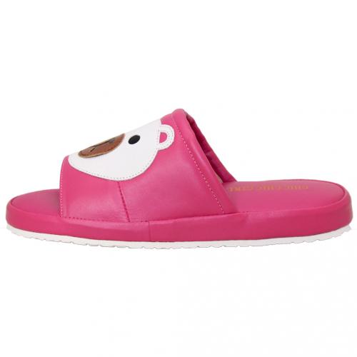 可愛熊熊小羊皮氣墊拖鞋