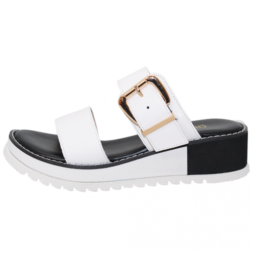 渡假風輕量楔型增高涼鞋