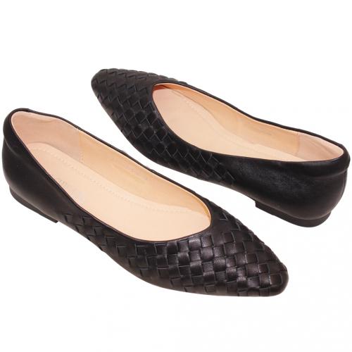 經典款編織小羊皮娃娃鞋