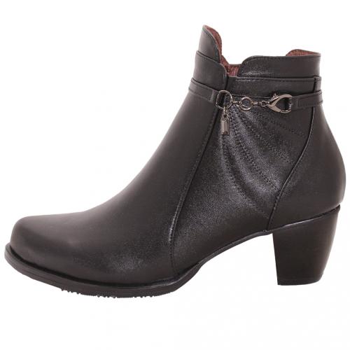 義大利頂級小羊皮輕量楔型短靴