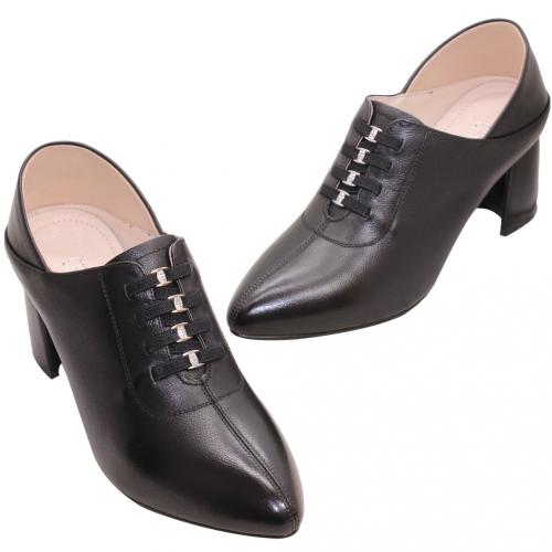歐美風小牛皮馬甲2way踝靴