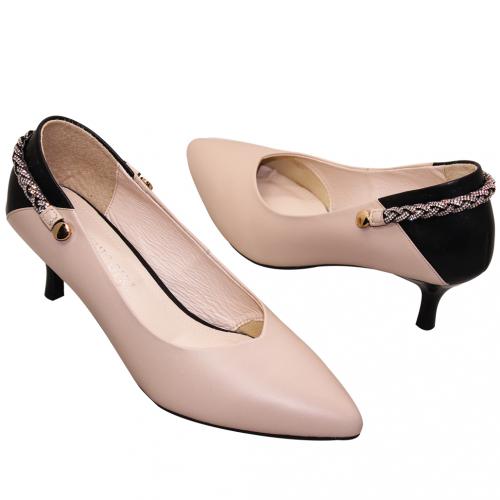 3way優雅小羊皮瑪麗珍酒杯跟鞋