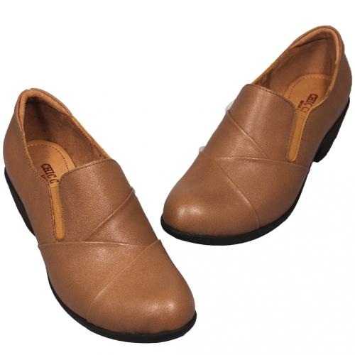 基本款素面小牛皮踝靴